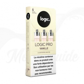 3 Cartouches Vanille - Recharges Logic Pro