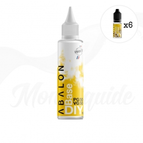 Pack 185ml Abalon DIY 6 mg/ml
